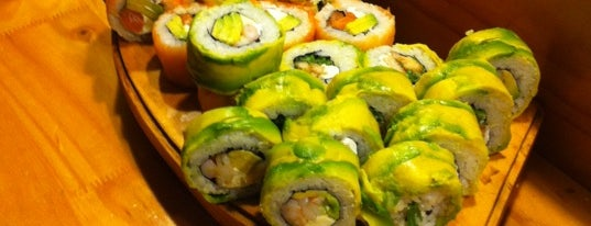 Natural Sushi Delivery is one of Santiago.