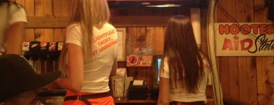 Hooters is one of Near the JOB.