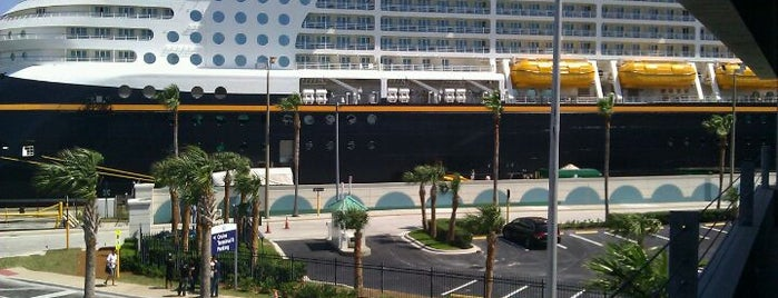 Disney Cruise Line Terminal - Port Canaveral is one of I  2 TRAVEL!! The ATLANTIC COAST✈.
