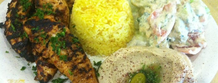 Aladdin's Mediterranean Grill & Deli is one of GA, USA.