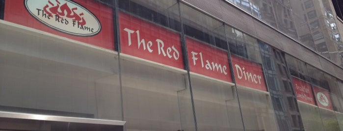 The Red Flame is one of manhattan.