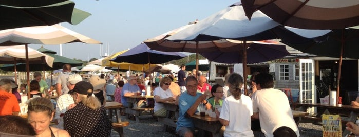 Sesuit Harbor Cafe is one of A Weekend Away in Cape Cod.