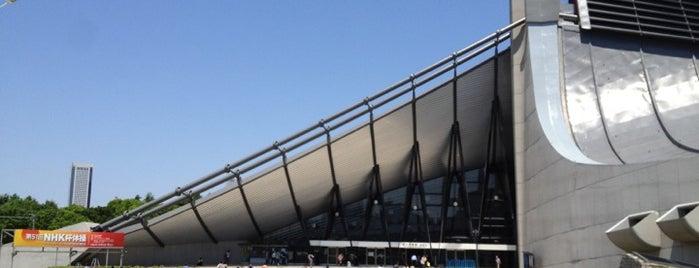 Yoyogi National Stadium is one of Top Olympic Stadiums.