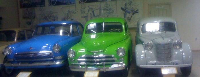 Музей автомотостарины is one of สถานที่ที่บันทึกไว้ของ Scott.