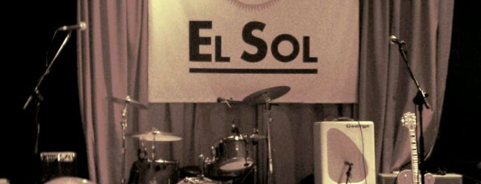 Sala El Sol is one of Madrid.