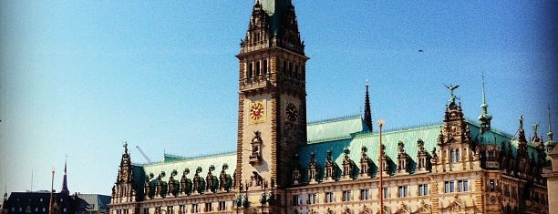 Hamburger Rathaus is one of Hamburg.