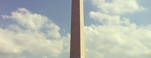 Washington Anıtı is one of DC must visit.