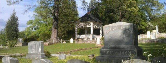 Decatur Cemetery is one of Rebecca: сохраненные места.