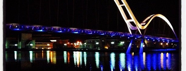 Infinity Bridge is one of Places to visit when in town.