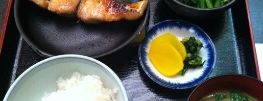 広島料理 安芸 is one of 新宿御苑前ランチ処(CP重視).