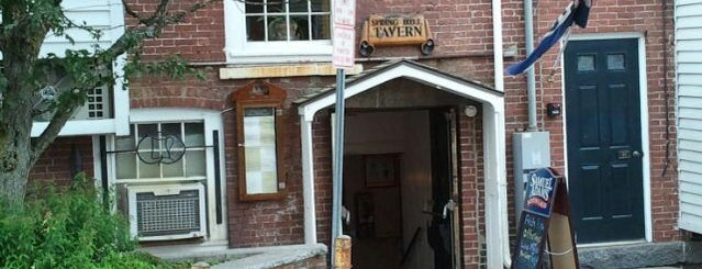 Spring Hill Tavern is one of New Hampshire.
