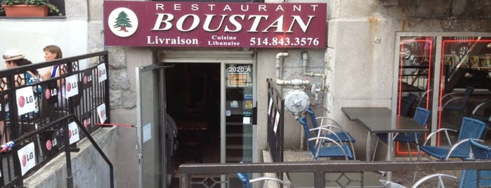 Boustan is one of Montreal.