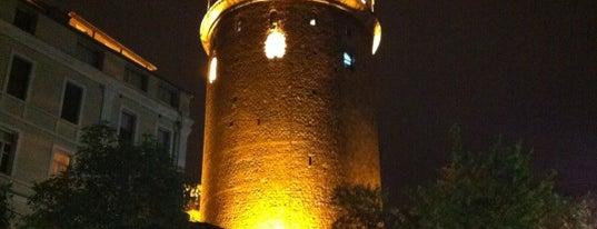 Галатская башня is one of Istanbul - En Fazla Check-in Yapılan Yerler-.