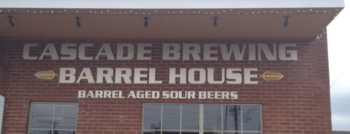 Cascade Brewing Barrel House is one of Portland.