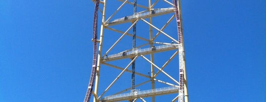 Top Thrill Dragster is one of Fernandoさんのお気に入りスポット.