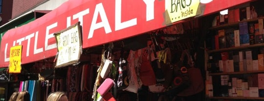 Little Italy is one of NYC Must See!.