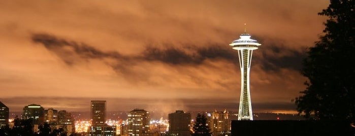 Kerry Park is one of Lost in Seattle.