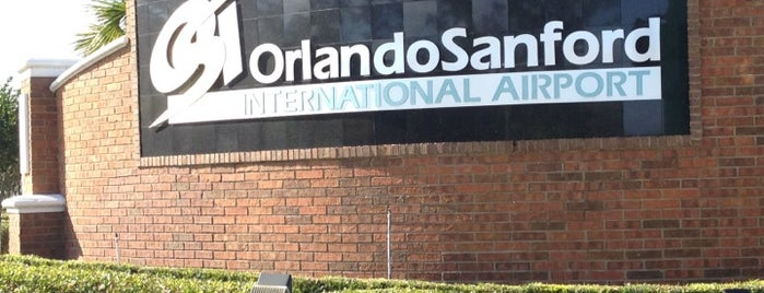 Orlando Sanford International Airport (SFB) is one of Favorite Places to visit!.