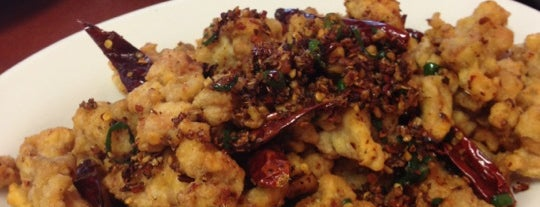 Sichuan Bistro is one of Cinci Work Food.