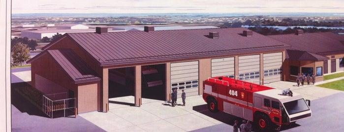 Martin State Airport Fire Department is one of Tempat yang Disimpan Jonathan.