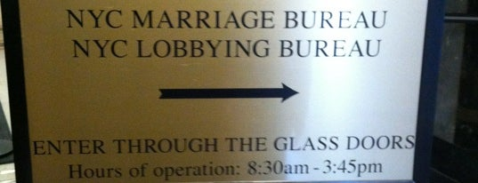 Office of the City Clerk - Marriage Bureau is one of Trip to New York City.