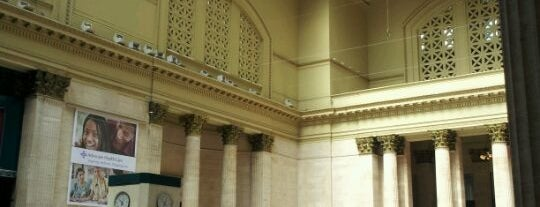 Union Station Great Hall is one of Off Duty: Save Your Own - Chicago Edition.
