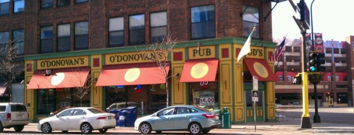 O'Donovan's Irish Pub is one of Minneapolis.