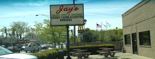 Jay's Beef is one of Chicago food.