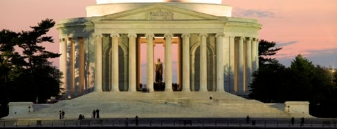 Thomas Jefferson Memorial is one of IWalked WashDC's National Mall (Self-guided Tour).