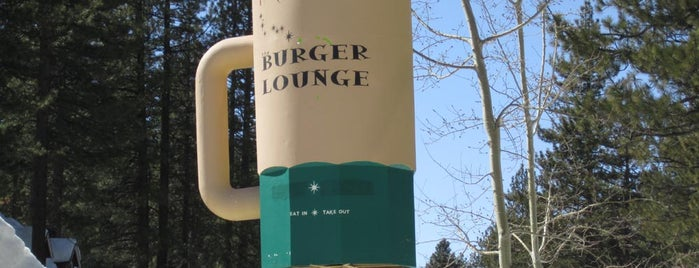 Burger Lounge is one of Burgers in Tahoe, CA.