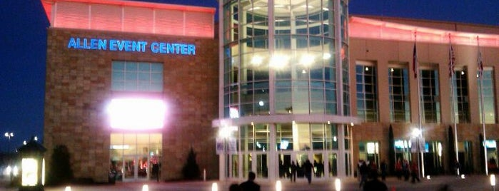 Allen Event Center is one of Tryout these places ....