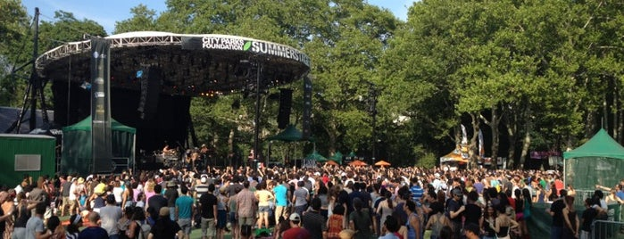 Central Park SummerStage is one of Bk Summer.