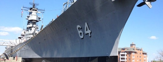 USS Wisconsin (BB-64) is one of Battleship Museums.