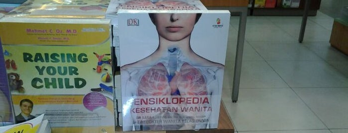 Gramedia is one of Fadlul 님이 좋아한 장소.