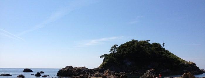 越前海岸 is one of 日本の渚百選.