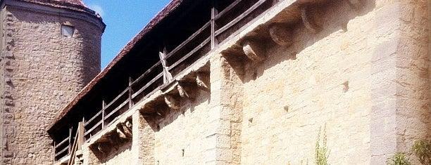Rothenburg ob der Tauber is one of 100 обекта - Германия.
