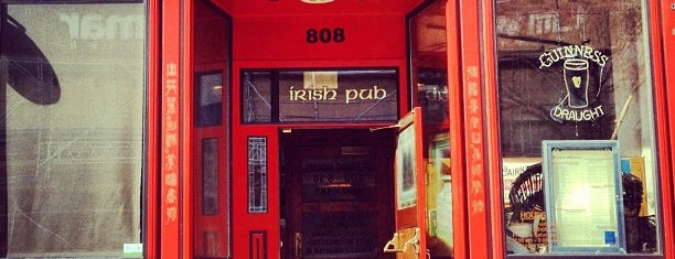"Fado Irish Pub is one of ""Hail, Columbia, happy land...""."