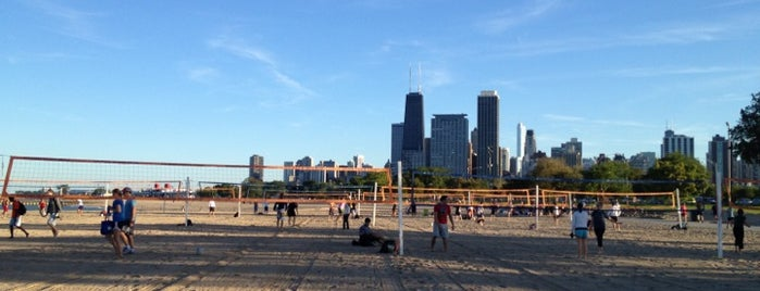 North Avenue Beach is one of Chicagoland.
