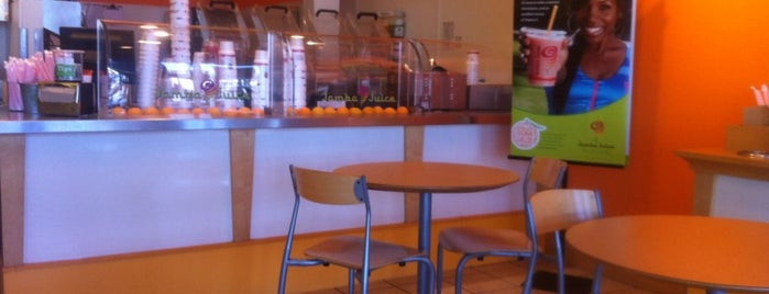 Jamba Juice is one of All The Places I Can Think of That I've been.