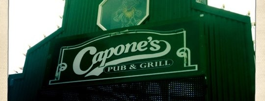 Capone's Pub & Grill is one of Road Trip.