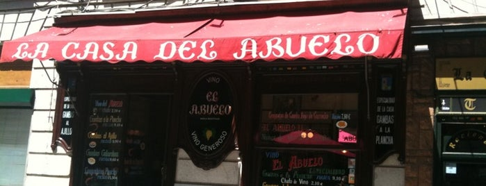 La Casa del Abuelo is one of Madrid.