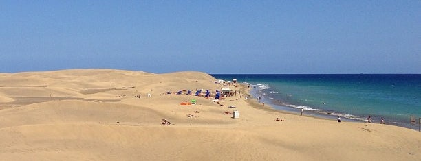 Playa de Maspalomas is one of Orte, die Anna gefallen.
