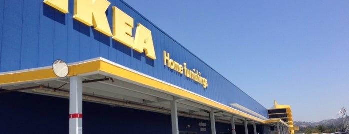 IKEA is one of Orte, die John gefallen.