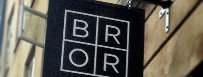 Restaurant BROR is one of Copenhagen.