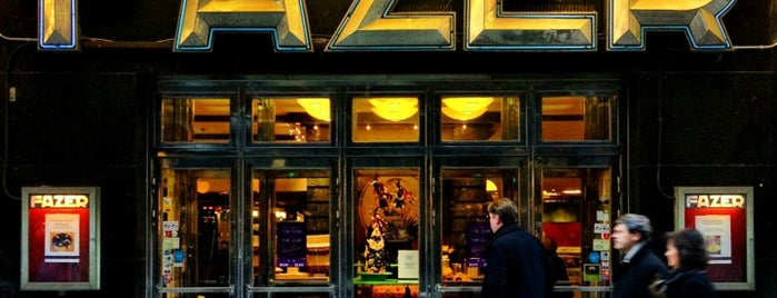 Fazer Café is one of Helsinki.