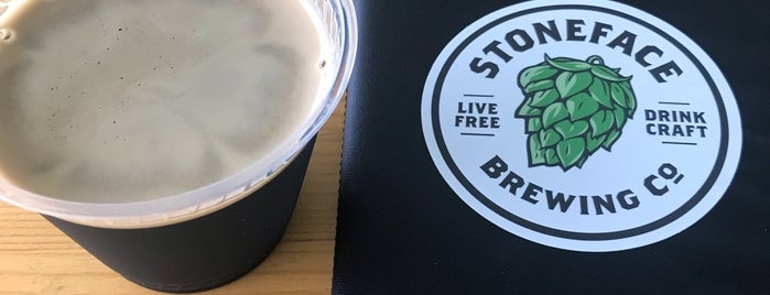 Stoneface Brewing Company is one of New England Breweries.