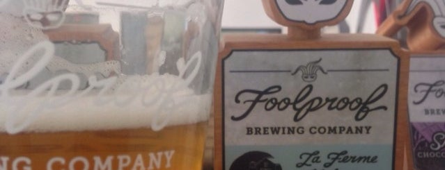 Foolproof Brewing Company is one of Local Brews.