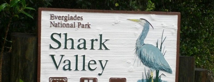 Shark Valley Vistors Center is one of Florida.