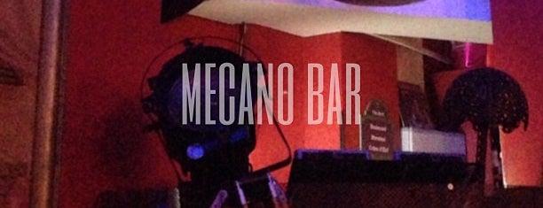 Mécano-Bar is one of BARS COOLS PARIS.