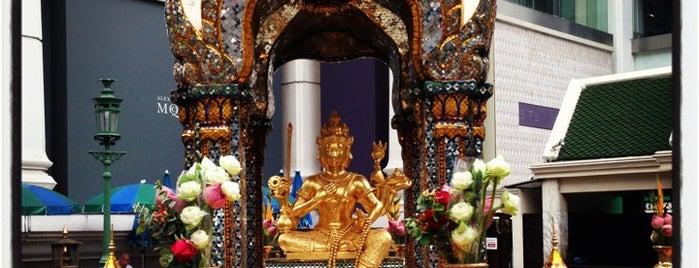 Erawan Shrine is one of Trips / Thailand.